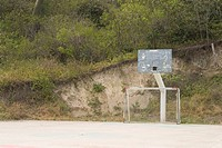 basketball board, basketball ground