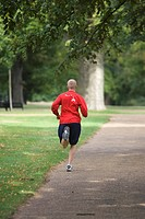 Focus On Foreground, Jogging, Lush Foliage