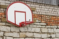 Basketball, Sport, Board, Bricks, Fixed