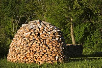 Building Material, Collection, Day, Heap, Logs