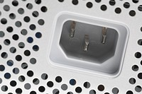Black And White, Close_Up, Computer Equipment, Electrical Plug, Hole
