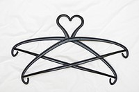 hanger, support, black, object, plastic, clothes hanger