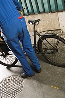 Bicycle, Day, Holding, Manual Worker, Mechanic (thumbnail)