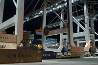 harbor, cargo, storage, containers, goods, order