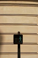 traffic, signal, guide, pole, figure, red