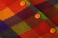 Button, Close_Up, Design, Fabric, Flannel