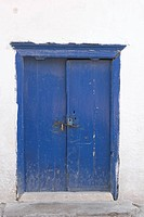 Blue, Close_Up, Damaged, Day, Door