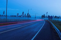 Highway, Street Lights, Abundance