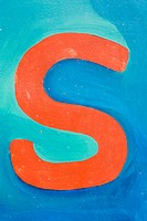 Blue, Close-Up, Capital Letter, Bright, Alphabet (thumbnail)