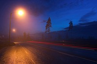 Blue Sky, Highways, Lights, Narrow (thumbnail)