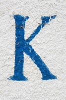 Blue, Indoors, Close_Up, Capital Letter, Alphabet