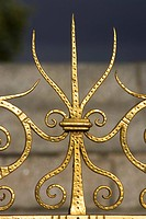 Close_Up, Gilded, Grille, Iron, Metal