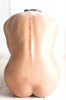 backside od nude woman