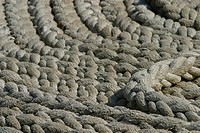 ropes, dock, industrial, detail, pile, background