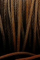Ropes, dock, industrial, detail, background, close-up (thumbnail)