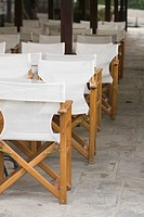 Chairs, Arrangement, Canteen, Cafe, Array, Arranged