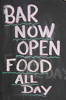 Bar, Blackboard, Capital Letter, Chalk, Close_Up
