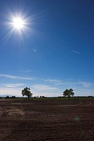 Blue Sky, Calm, Day, Ground, Horizon