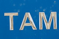 Blue, Capital Letter, Close-Up (thumbnail)
