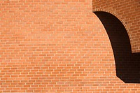 Brick, Close_Up, Building, Brick Wall, Arch