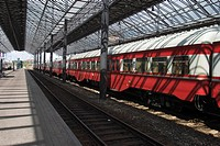 Rail, Speed, Red, Commuting, Commuter, Locomotive