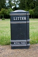 Black, Capital Letter, Day, Garbage Bin