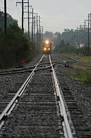 Railroad, conveyance, travel, way, path, pathway (thumbnail)