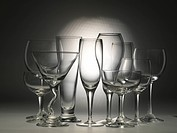 house item, wine glass, artifact, object, champagne glass, glass