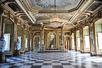 Interior Hall, Palace Queluz, Portugal
