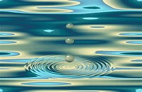 Waterdrop And A Whirlpool