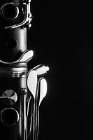 Close-up of clarinet (thumbnail)