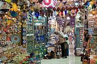 Halicilar caddesi, shopping area. Istanbul, Turkey, Asia