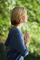 Woman Meditating