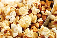 Popcorn, full frame, close_up