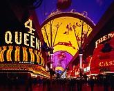 Fremont Street, Las Vegas, Nevada, Western, United States of America