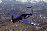 F4U Corsair World War II fighter aircraft
