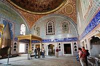 Privy Chamber of Murat III, Topkapi Palace, Istanbul, Turkey
