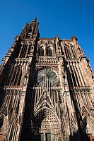 Notre Dame cathedral, church, Strasbourg, France, Europe