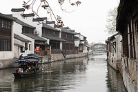 Konan, riverside district, Nan_hysunchen, Zhejiang, China, Asia, Kochin
