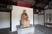 Panmen, Statue, Suzhou, Jiangsu sheng, China, Asia, the ancient Warring States Ages in China