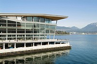 Vancouver Convention Centre, downtown Vancouver, BC, Canada