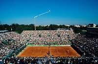 France Paris Tennis Roland Garros tournament Philippe Chatrier court 1993