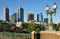 Melbourne Central Business District, Melbourne, Victoria, Australia, Pacific