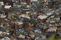 geography / travel, Brazil, Rio de Janeiro, city views / cityscapes, Favela, South America, poverty, slum, city view / cityscape, huts, misery, shanty...