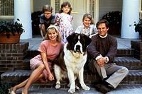 movie, Beethoven, USA 1992, director: Brian Levant, scene with: Nicholle Tom, Christopher Castile, Sarah Rose Karr, Charles Grodin, Bonnie Hunt, comed...