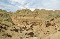 The Blue Basin at the John Day Fossil Beds National Monument, Oregon