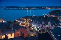City view of Cobh, Cork, Ireland