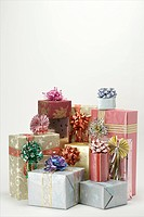 Wrapped gifts.