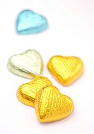 Heart shape chocolates