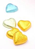 Heart shape chocolates